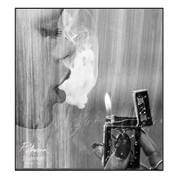 Rihanna Smoke &amp; Lighter Collectible Print