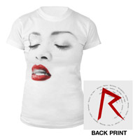 Diamonds World Tour 2013 Women's Lipstick T-Shirt