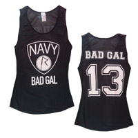 Bad Gal Navy TankTop