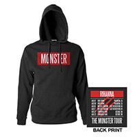 The Monster Tour Pullover Hooded Sweatshirt