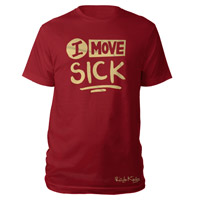 Rizzle Kicks I Move Sick Red T-shirt
