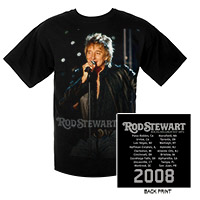 Rod Stewart Greatest HIts 2008 Event Tee