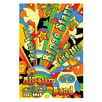 Official Ringo Starr 2010 Tour Poster
