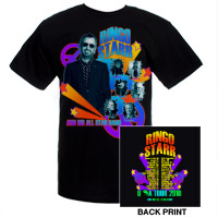 Ringo Starr Official 2010 Tour Tee