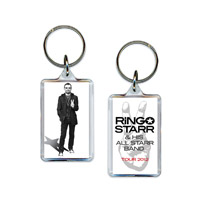 Official 2012 Ringo Starr Tour Keychain