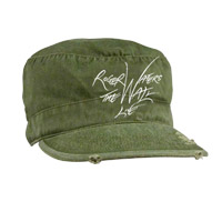 Roger Waters 2010 The Wall Live Tour Military Stye Hat