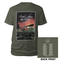 Roger Waters The Wall Live 2012 Hammers Tour Tee