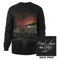 Roger Waters The Wall Live 2013 Hammers Long Sleeve Tee