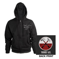 Roger Waters The Wall Live 2013 Hammers Black Zip Hoodie