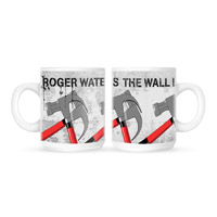 Roger Waters The Wall Live 2013 Hammers White Mug