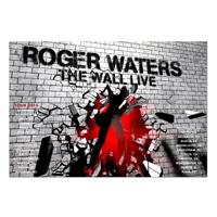 Roger Waters The Wall Live 2013 Break Through EU Tour Poster