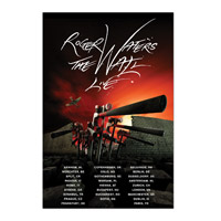 Roger Waters The Wall Live 2013 Hammers EU Tour Poster