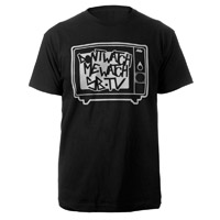 Don't Watch Me, Watch SB.TV T-Shirt (Black/White)