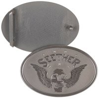 Seether Winged Skull Belt Buckle