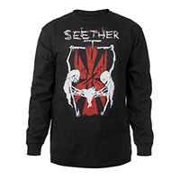 "Seether Long Sleeve ""Triple Threat"" Tour Tee"