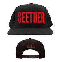 Seether Logo Hat