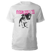 Sex Pistols Bulldog White T-shirt