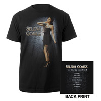 "Selena Gomez ""Dress Photo"" Tour Tee"