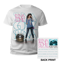"Selena Gomez ""Disco Ball"" Youth Tee"