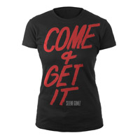 Selena Gomez Come & Get It Script Junior Tee