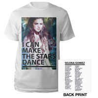 Selena Gomez I Can Make The Stars Dance Tour 2013 Tee