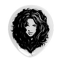 Shakira 'Face Of The Wolf' Pin
