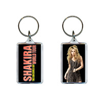 Shakira Sun Comes Out Tour Keychain