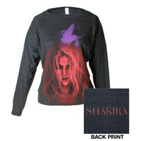Shakira She Wolf Women's Fashion Sweatshirt