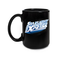 Starlight Express Black Mug