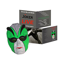 Steve Miller Band Joker Mask + The Joker Live In Concert CD