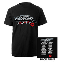 Steel Panther SDLB's Tour 2013 Shirt
