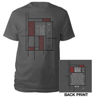 Sting Back To Bass 2013 Geometric Shirt
