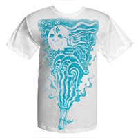New - STP Megaphone Moon Tee