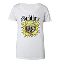 Sun Scoop Neck  Ladies Tee