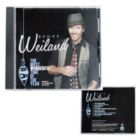 New - Scott Weiland's Most Wonderful Time Of The Year Holiday CD