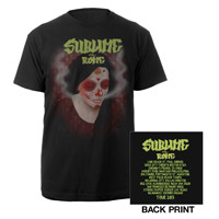 Sublime with Rome Tour 2013 Skull Girl Shirt
