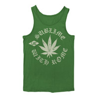 Sublime with Rome Pot Leaf Tank