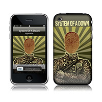Thumbprint Soldier iPhone (2G,3G,3GS) Skin