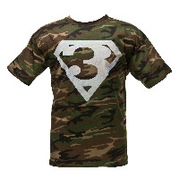 Camo Superman Tee