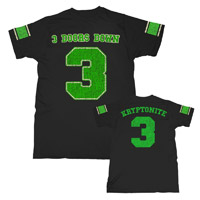 Kryptonite 3 Football Tee