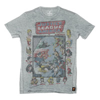 JLA Meets the All-Star Squad Tee