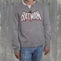 "Batman ""1980 Logo"" Mens Thermal"