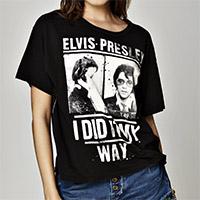 """Elvis Presley """"I Did It My Way"""" Slouchy Tee"""