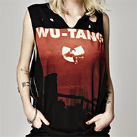 Wu Tang Sunset Destroyed Muscle Tee