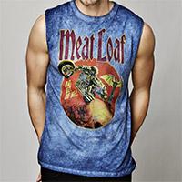 Meatloaf Motorcycle Men's Muscle Tee