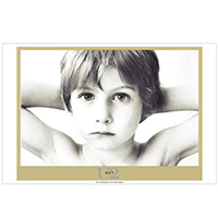 Boy Album Lithograph