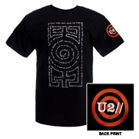 Black Word Maze T-shirt
