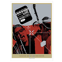 'Elevation 2001/U2 Live From Boston' DVD Lithograph
