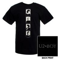 'BOY' Album Portraits T-Shirt  (Black)