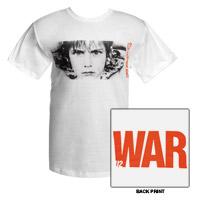 'WAR' Album Cover T-Shirt (White)